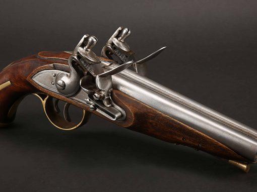 SXS Flintlock Pistol