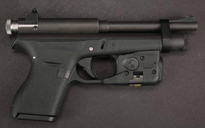 Tranquilliser pistol